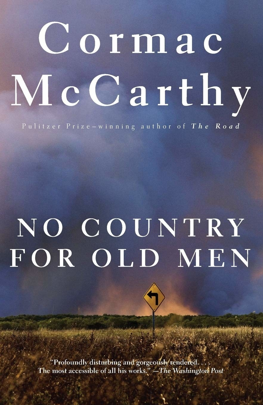 the cover of no country for old men by cormac mccarthy