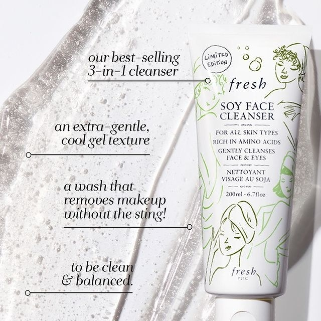 The bestselling gel face cleanser is clean, balanced, and removes makeup