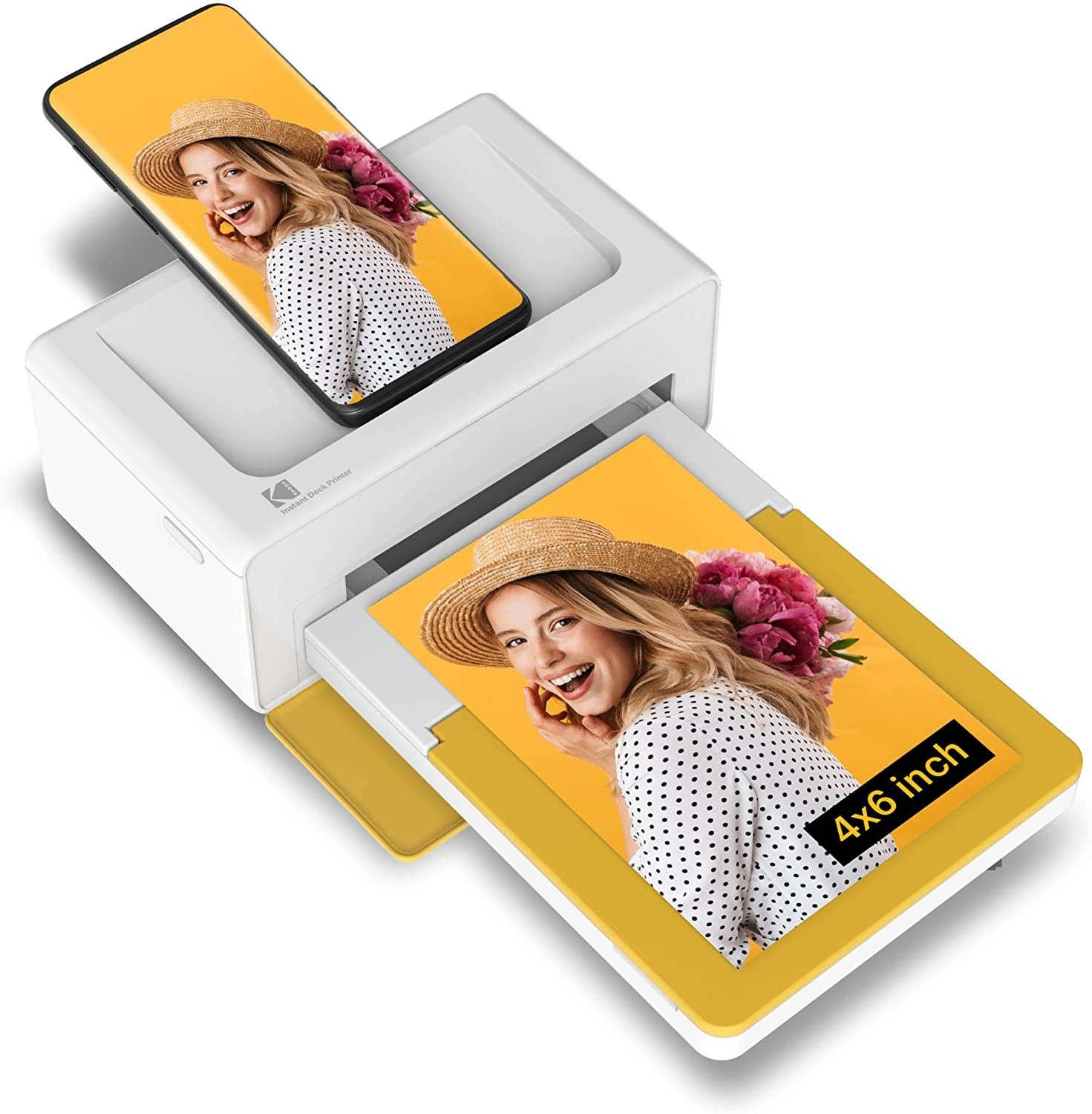 the device printing from an iPhone
