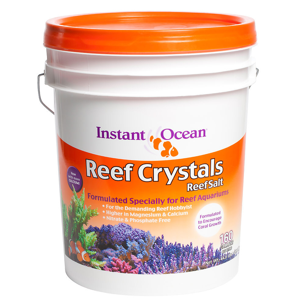 A bucket of the reef salt