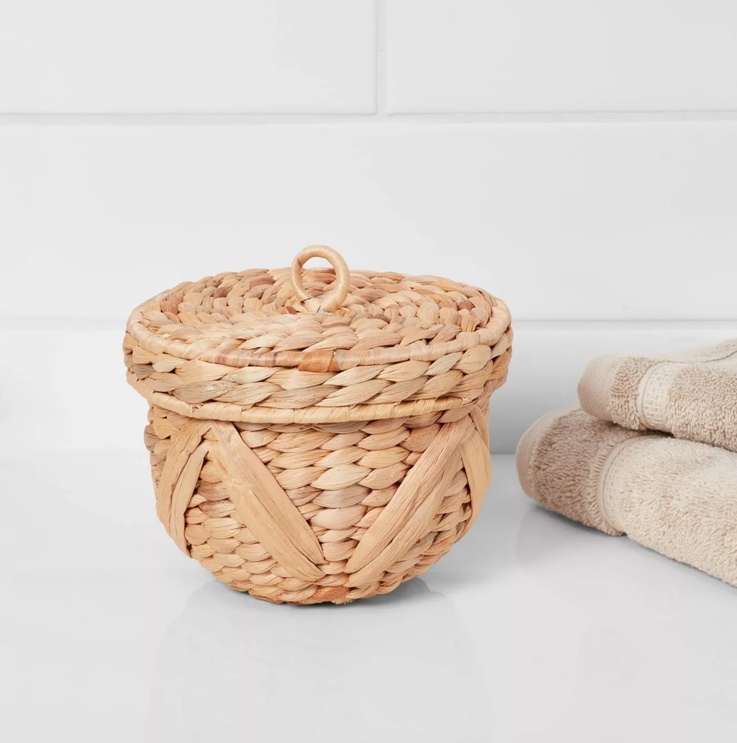 The woven canister