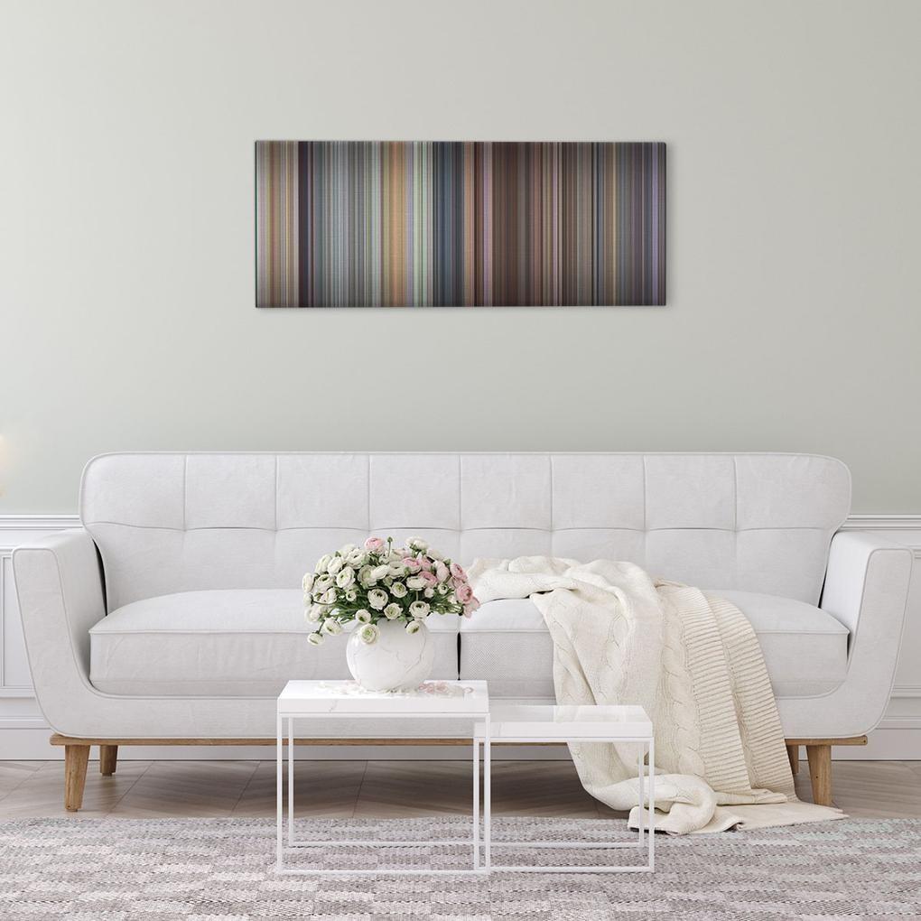a princes bride canvas hung over a sofa