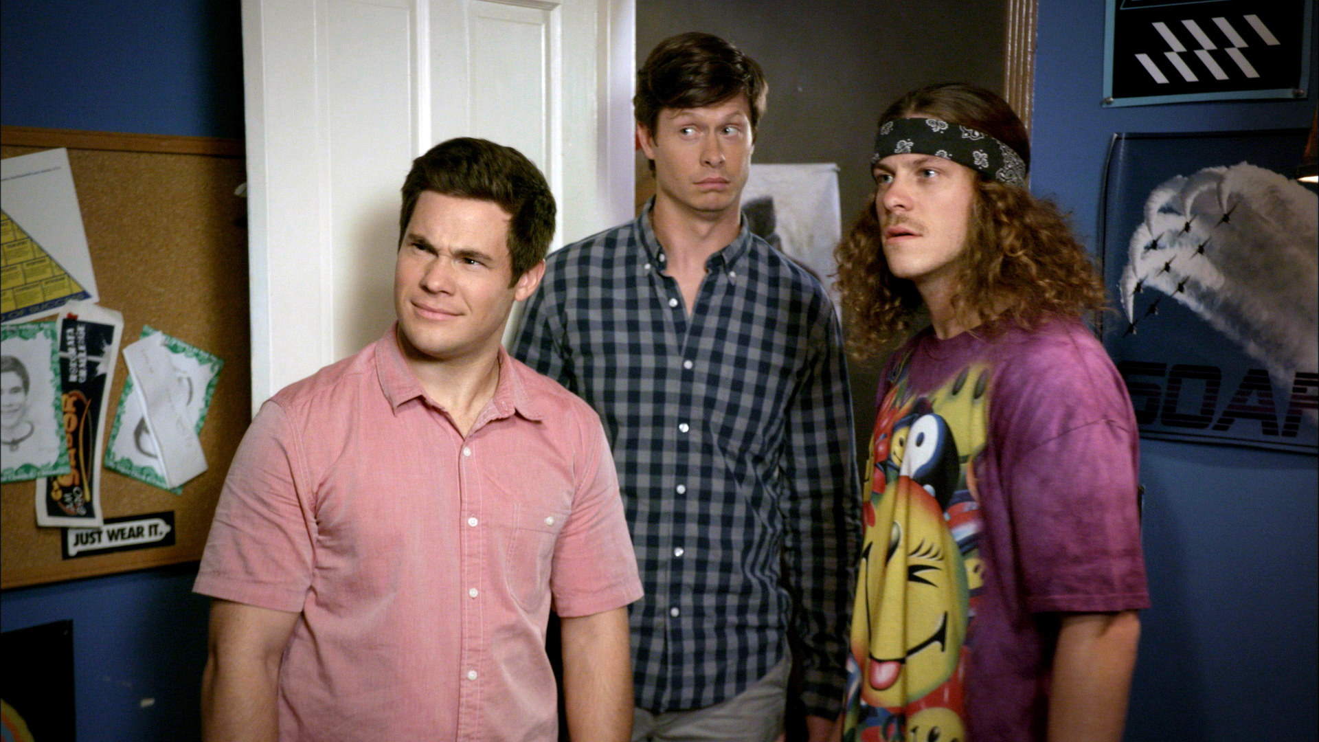 WORKAHOLICS, Adam Devine, Anders Holm, Blake Anderson in 'Termidate', (Season 7, Episode 708, aired March 1, 2017)