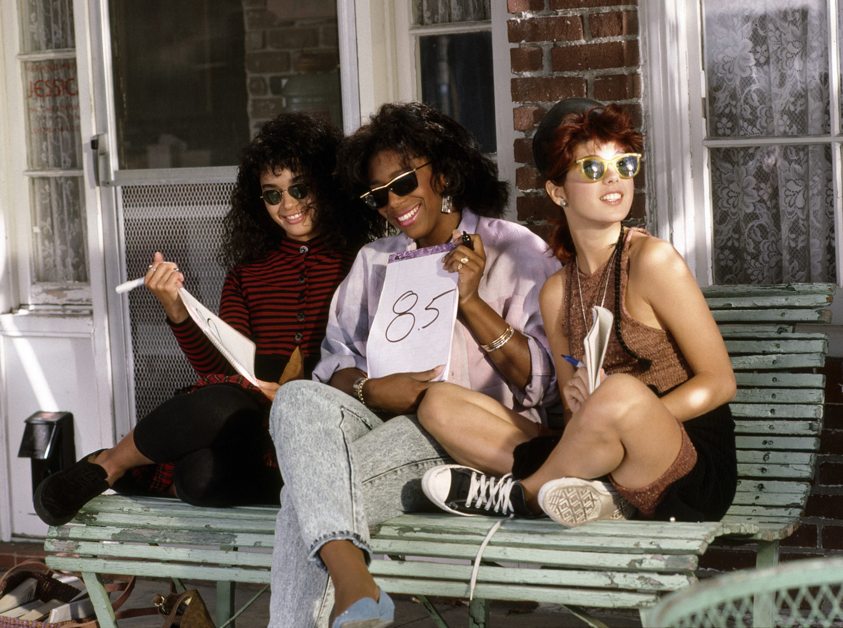 (from left): Lisa Bonet, Dawnn Lewis, Marisa Tomei, (A Different World Season 1)