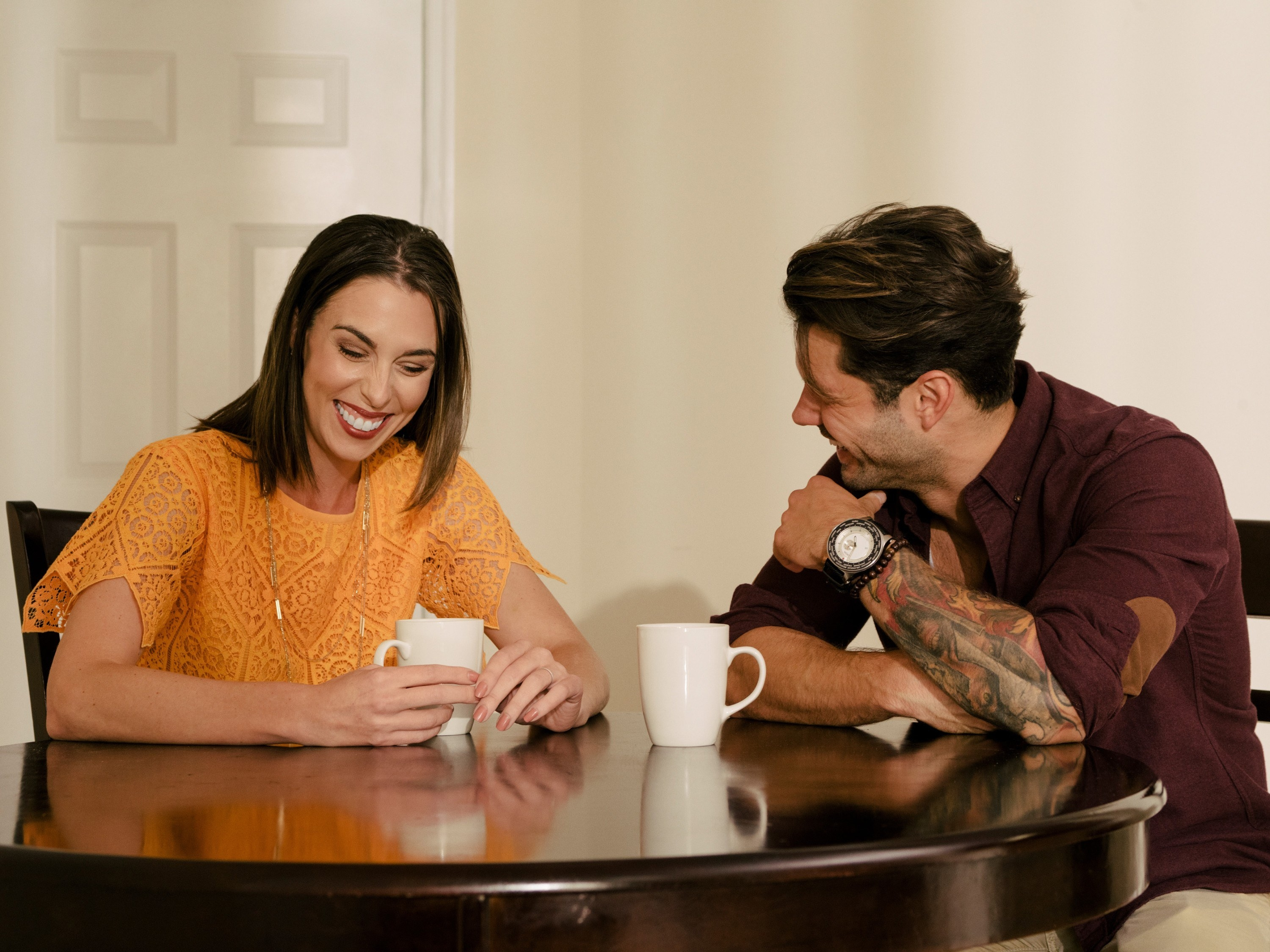MARRIED AT FIRST SIGHT, (from left): Mindy Shiben, Zach Justice, (Season 10, premiered Jan. 1, 2020)