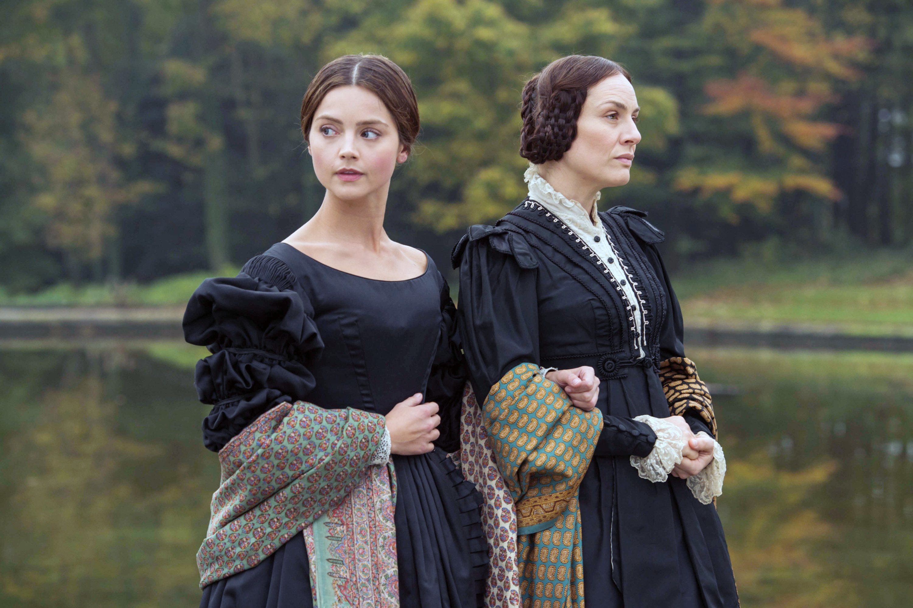 VICTORIA, (from left): Jenna Coleman, Daniela Holtz, 'Doll 123', (Season 1, ep. 101, airs in US on Jan. 17, 2017)