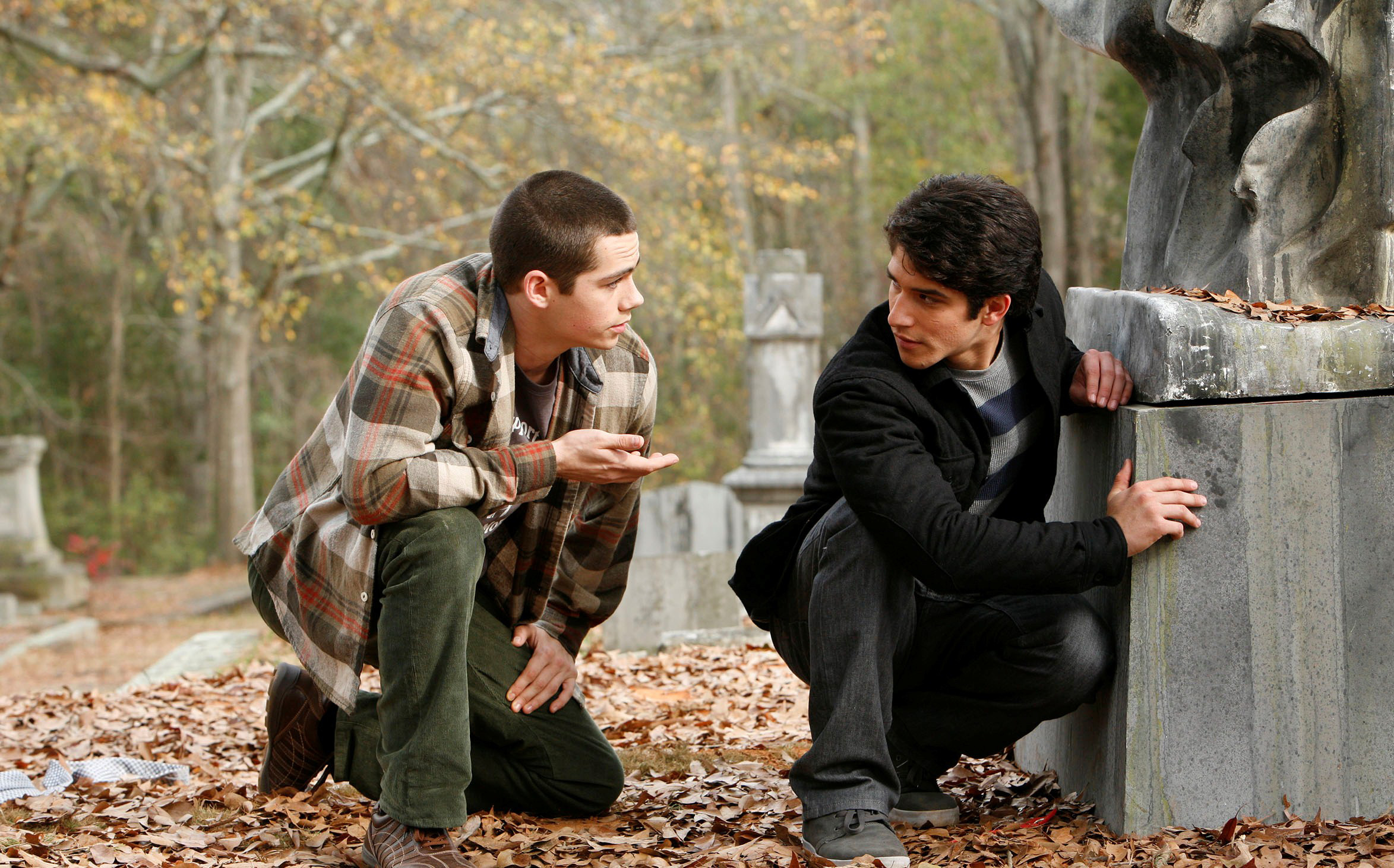 TEEN WOLF, (from left): Dylan O'Brien, Tyler Posey, (Season 2, 2012)