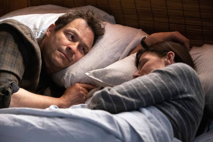 THE AFFAIR, from left: Dominic West, Maura Tierney, (Season 5, Episode 510 aired Oct. 27, 2019)