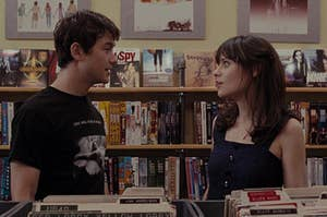 Tom and Summer at the record store