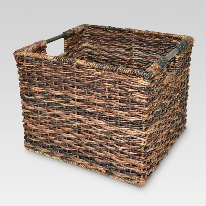 The wicker crate