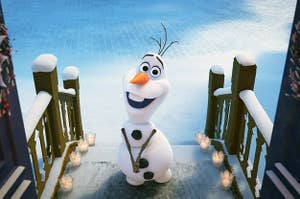 olaf from the movie frozen