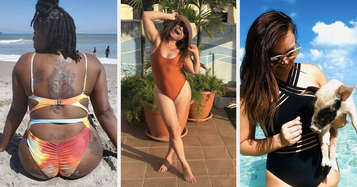 28 One-Piece Bathing Suits That'll Make You Ditch Your Bikini