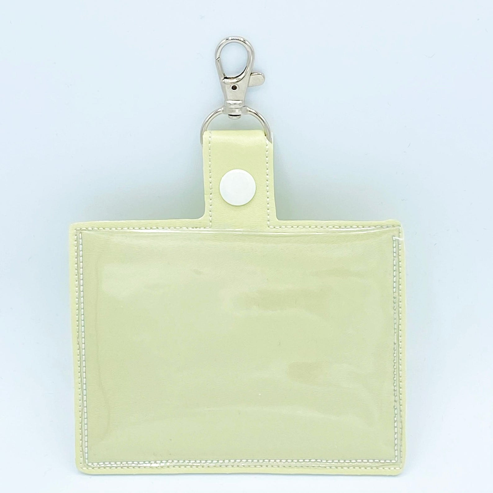 light yellow vaccine holder