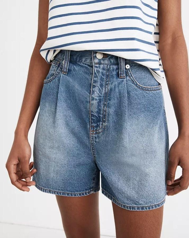 The shorts close up