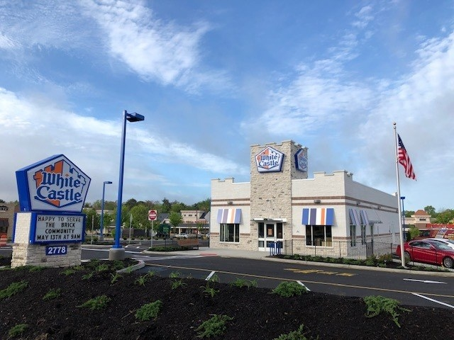 A White Castle restaurant.