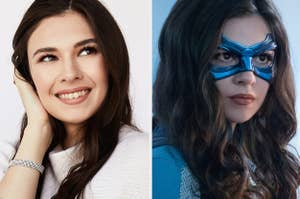 Nicole Maines and Nicole Maines as Dreamer/Nia on Supergirl