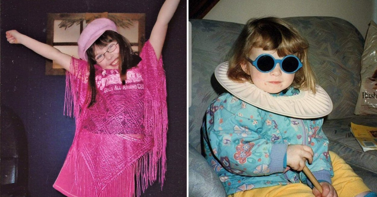 21 People Who Dressed Themselves As Kids And Gave A Big