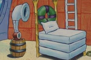 海绵宝宝的卧室