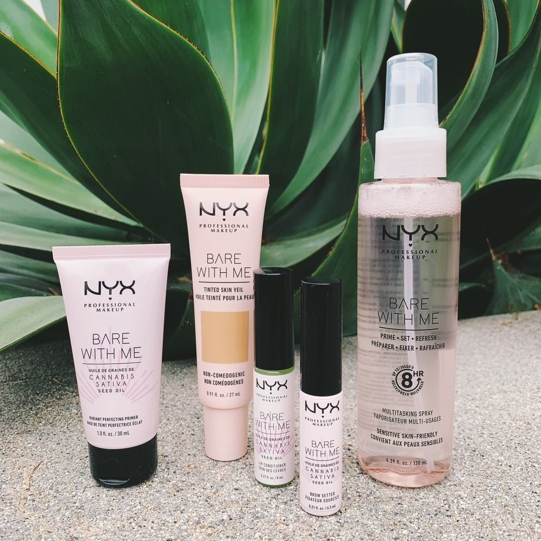 Nyx Bare With Me products