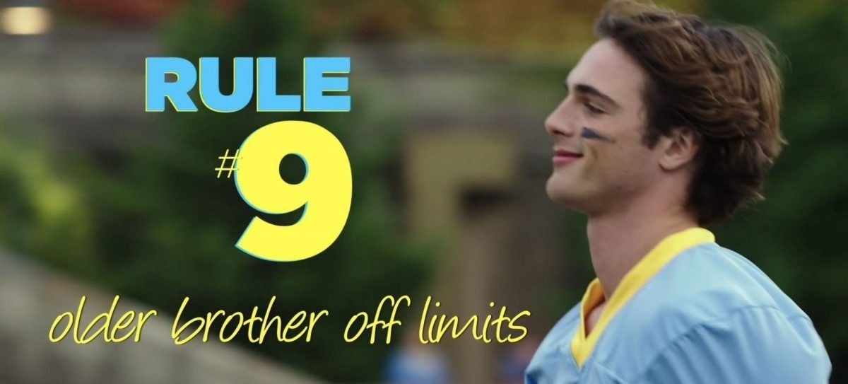 """The Kissing Booth"" rule #9: ""Older brother off limits"""