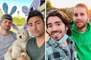 jonathan bennet and ben platt and their boyfriends