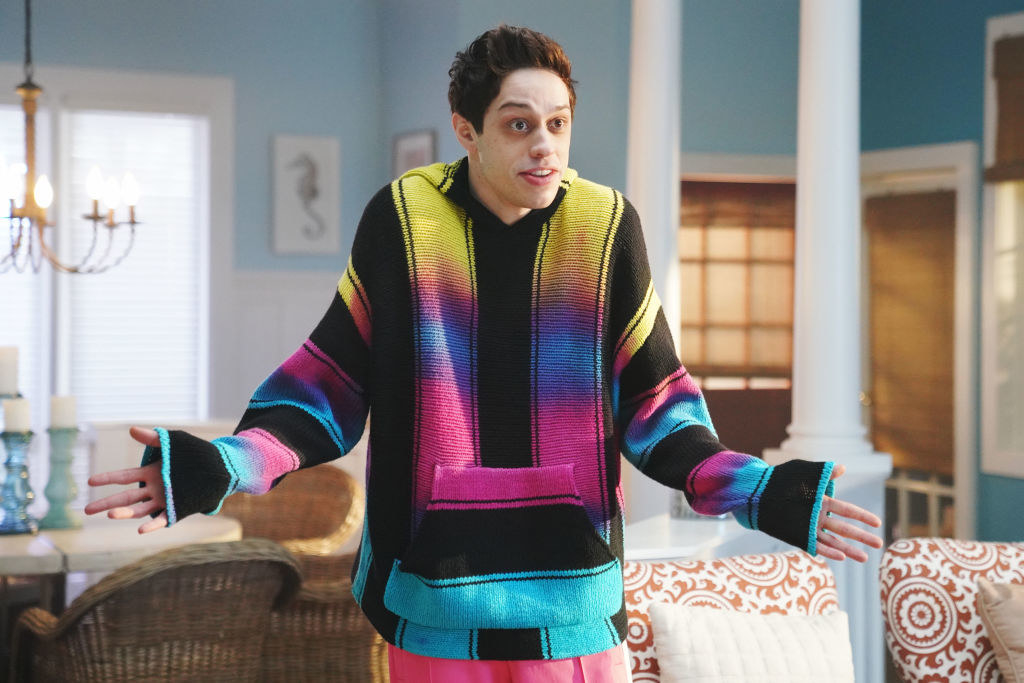 "Pete Davidson during ""A Journey Through Time"" sketch"
