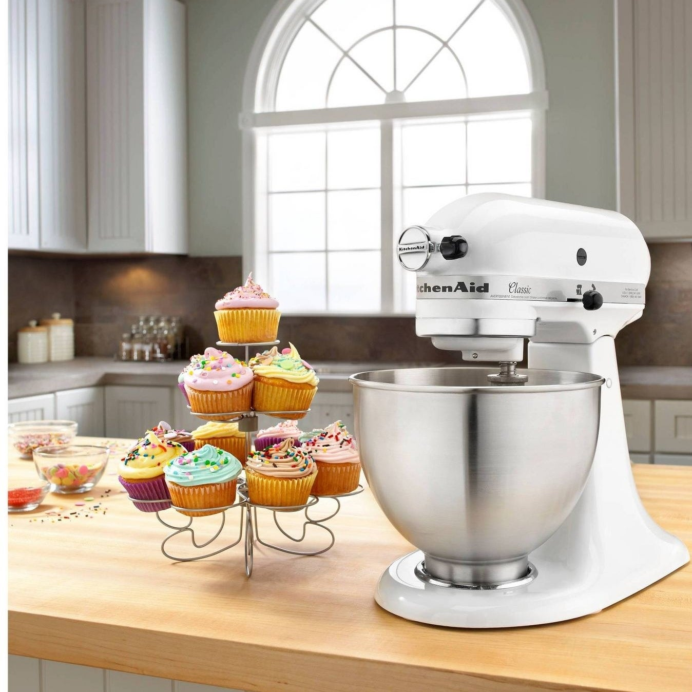 The classic stand mixer