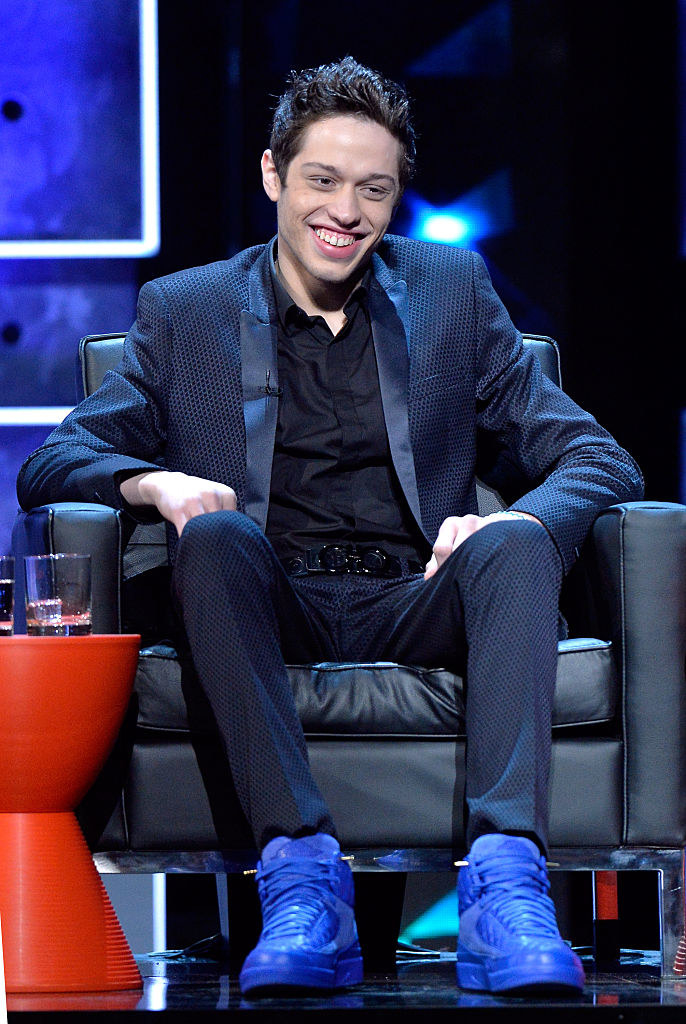 Pete Davidson attends The Comedy Central Roast of Justin Bieber