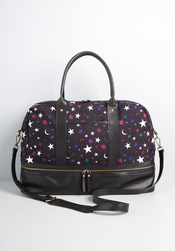the bag in a star print