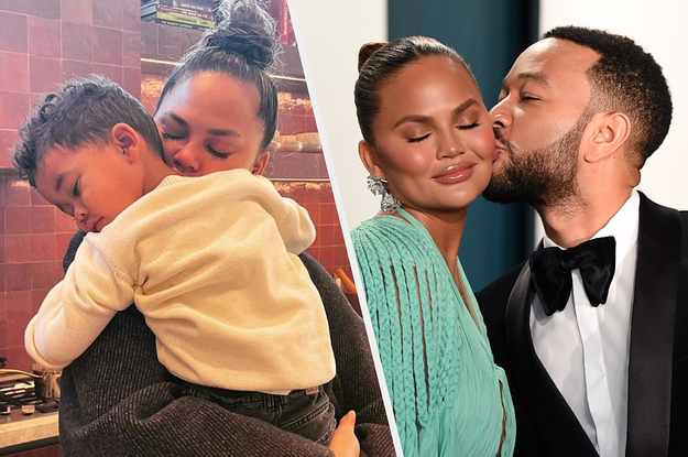 Chrissy Teigen Explained How She And John Legend Are Teaching 2-Year-Old Miles There's