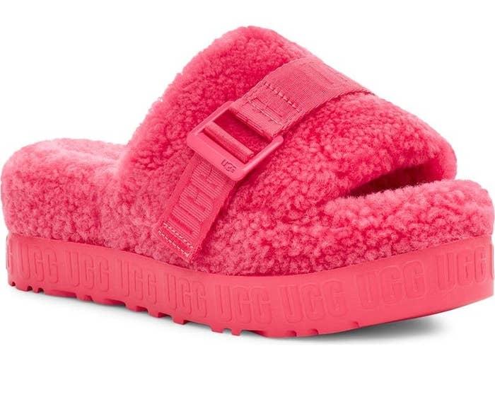 The slipper in Strawberry Sorbet
