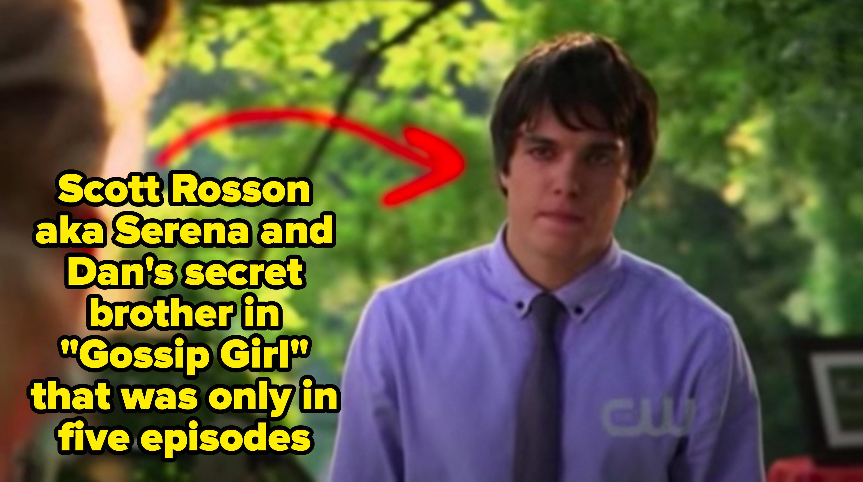"Scott Rosson from ""Gossip Girl"""