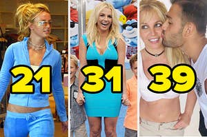 britney spears over 3 decades