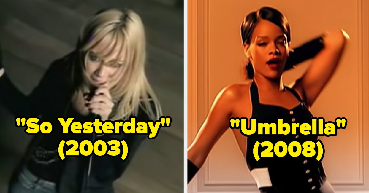 Sorry, But Only 2000s Girls Will Recognize All 50 Of These Iconic Songs