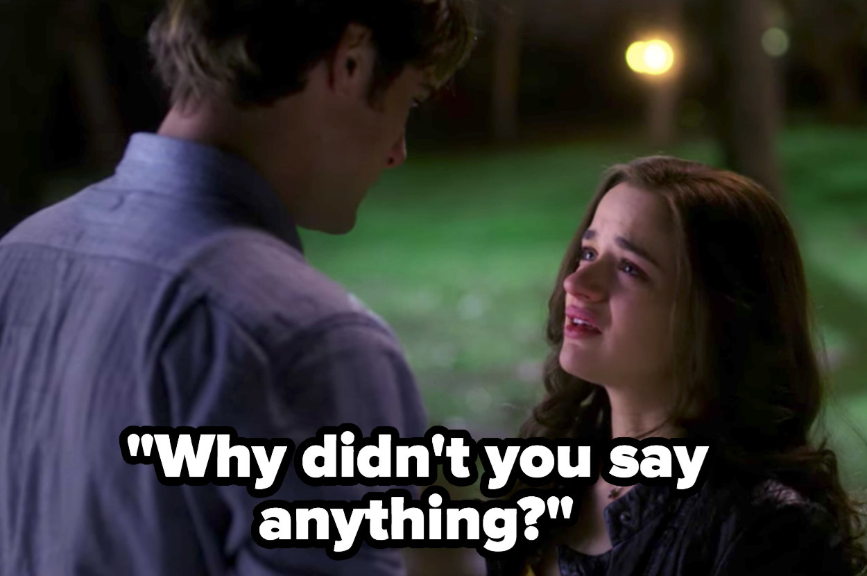"Elle to Noah in ""Kissing Booth 2"": ""Why didn't you say anything?"""