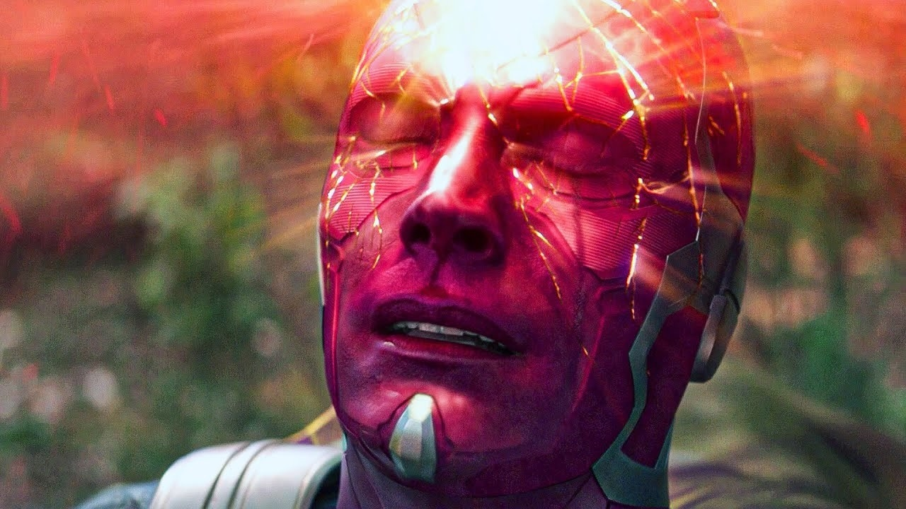 "Vision sacrifices himself to Thanos in ""Infinity War"""