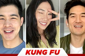 The cast of Kung Fu plays Who's Who