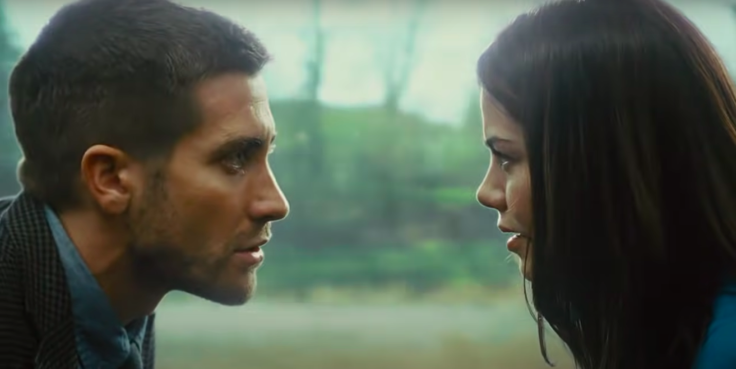 """Jake Gyllenhaal and Michelle Monaghan in """"Source Code"""""""