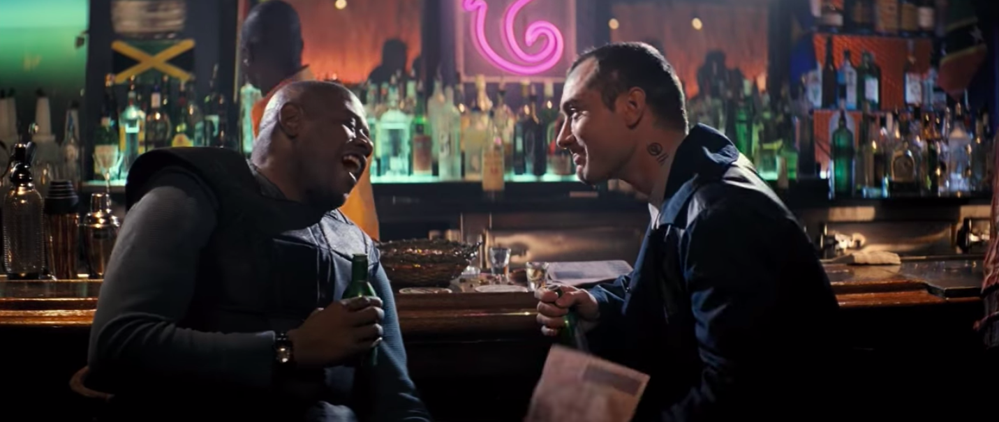 """Forest Whitaker and Jude Law in """"Repo Men"""""""
