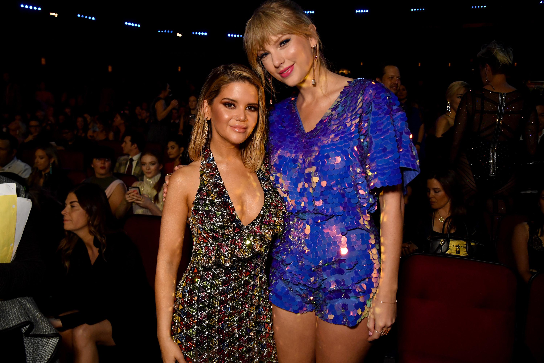 Maren Morris and Taylor Swift