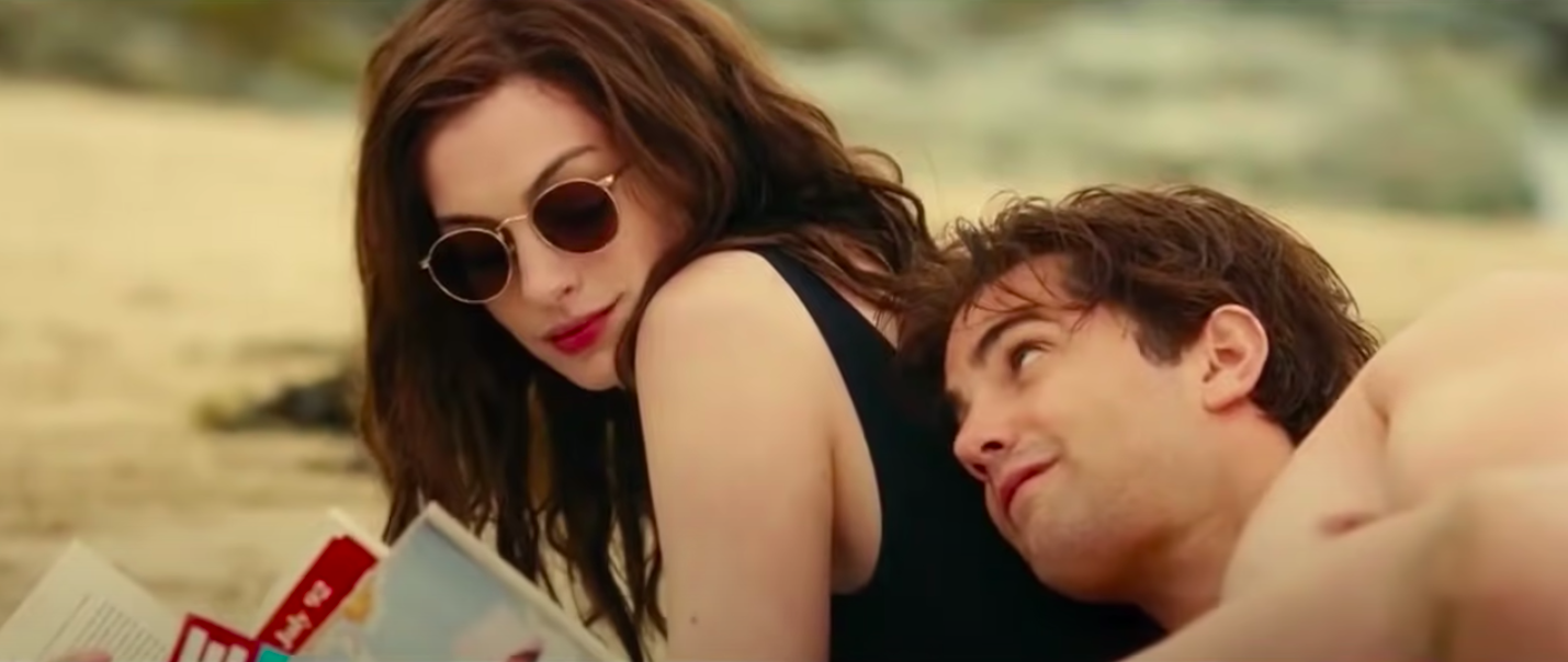 """Anne Hathaway and Jim Sturgess in """"One Day"""""""