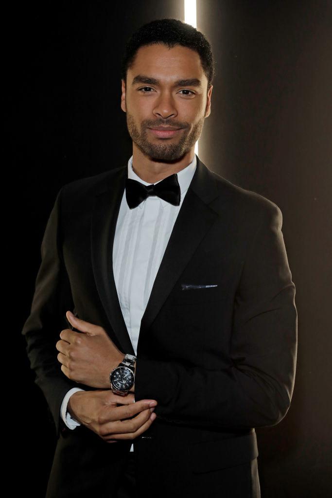 Regé looking dashing in a tuxedo