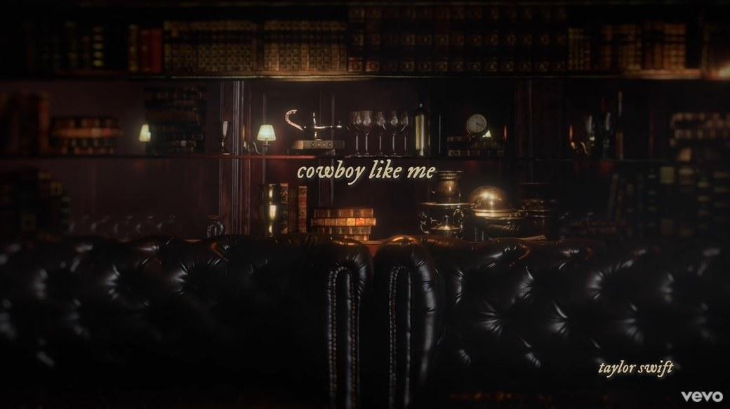 """Cowboy Like Me"" title page"