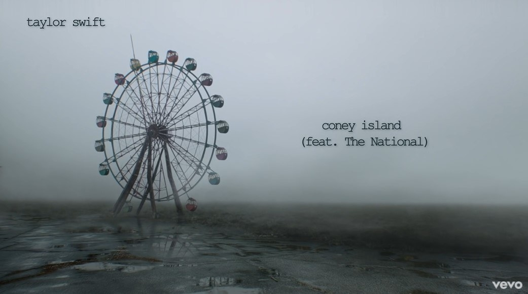 """""""coney island"""" title page"""