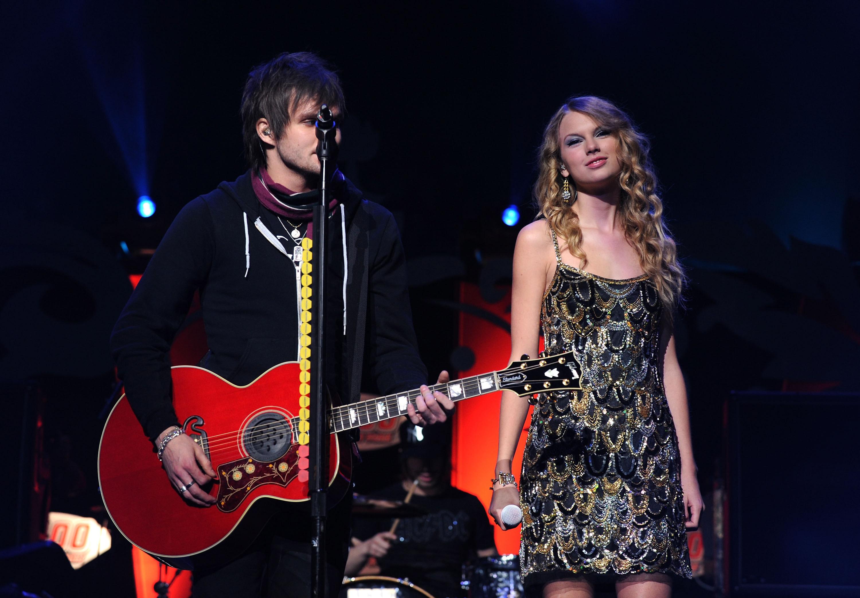 Martin Johnson and Taylor Swift