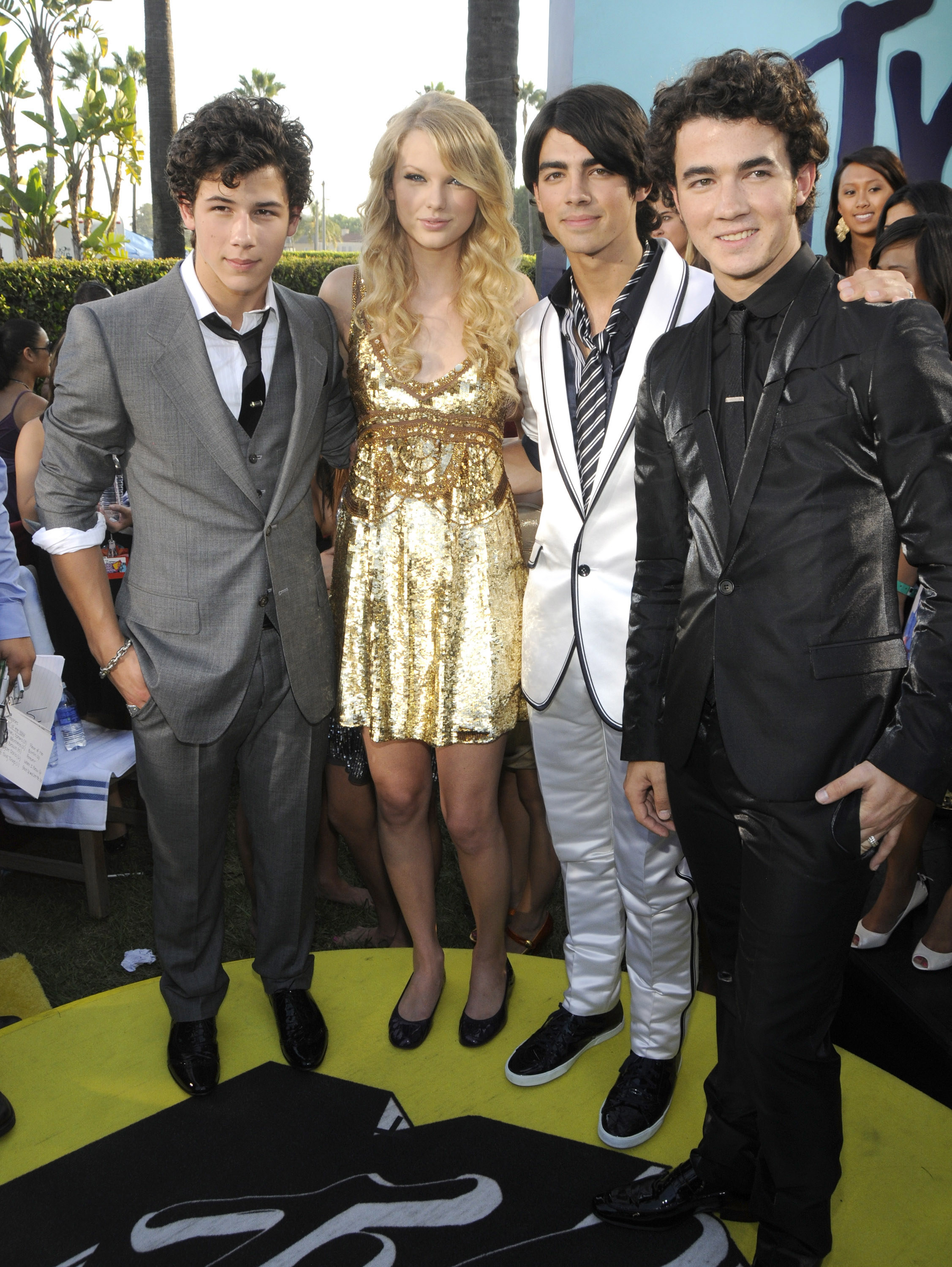 Taylor and the Jonas Brothers