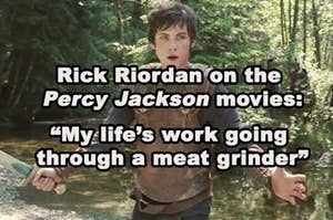A scene from the first movie of the Percy Jackson series
