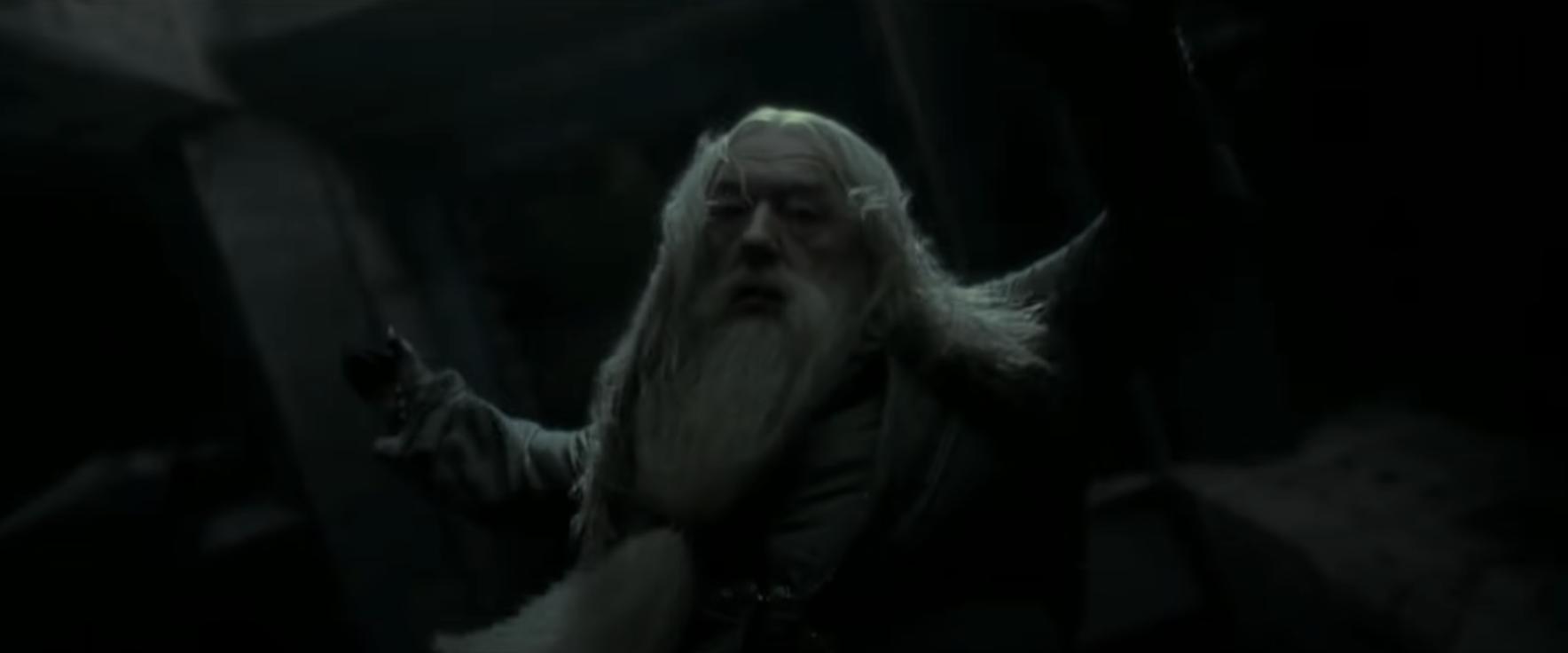Dumbledore's death scene