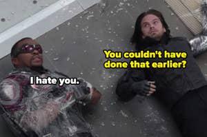 Bucky saying