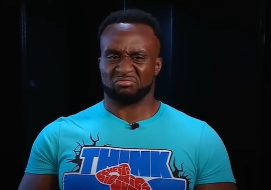 Big E looking fed up